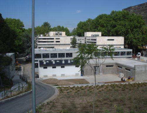 Jardines del Instituto de Ciencia y Tecnologia de los Alimentos ICTAN.