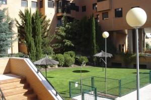 Jardin de comunidad en Las Rozas