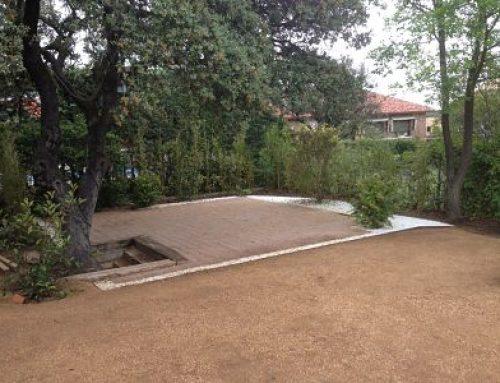 Diseño y realización de Jardin en Las Matas, Las Rozas, Madrid