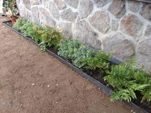 Jardinera en perfil de hierro para jardin, Las Matas, Las Rozas, Madrid