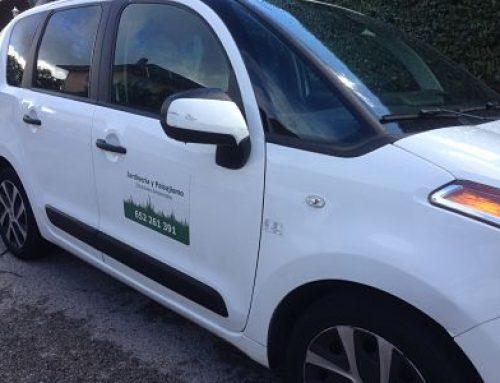 Nuevo vehículo de Jardinería para Soluciones Ambientales