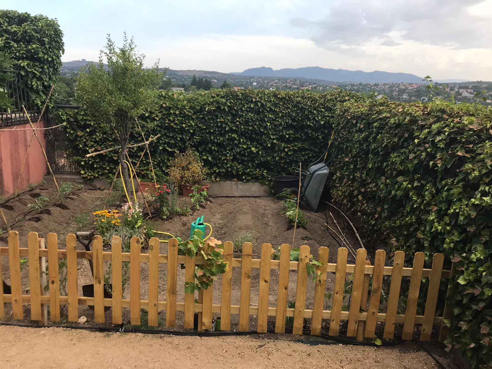 Huerta en jardín Las Matas Las Rozas Madrid
